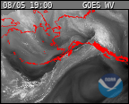 Latest GOES Water Vapor