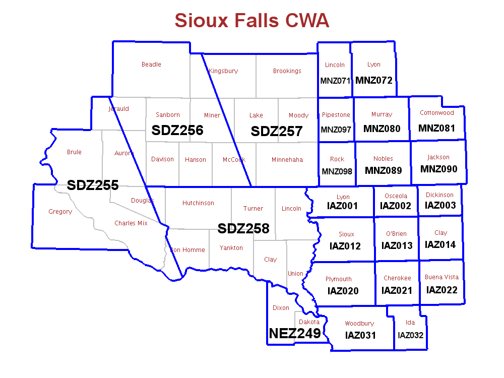 NWS Sioux Falls Fire Weather