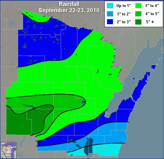 Rainfall map - Click for larger image