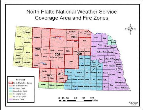 Fire Weather Map